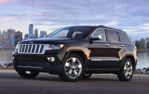 2015 Jeep Grand Cherokees - Our Technician's Small Service Vehicles