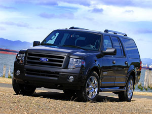 Ford Expeditions - Our Technician's Larger Service Vehicles