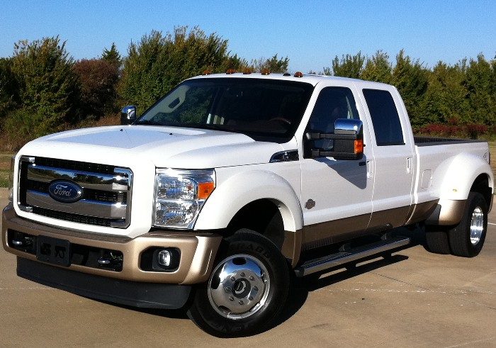 2011 Ford F-450 Super Duty King Ranch Pickups - Our Engineer's Service Vehicles